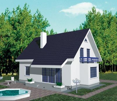 Строительство одноэтажного дома из газобетона своими руками